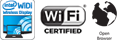 Built-in Wi-Fi®, WiDi and web browser